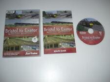 Bristol a Exeter PC CD ROM Add-On de expansión Railworks o Railworks 2