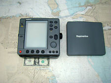Raytheon RC520 GPS CHARTPLOTTER DISPLAY w'MOUNT-WP COVER-12 Photos-BEAUTY-L@@K!!