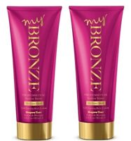 2x Supre MY BRONZE Professional Sunless Self Tanner Lotion MEDIUM / DARK 5.5 oz