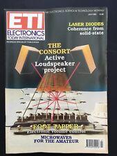 Electronics Today International (ETI) July 1991 - Hobby Monthly Magazine