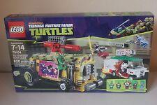 Lego Teenage Mutant Ninja Turtles The Shellraiser Street Chase #79104 620 Pieces