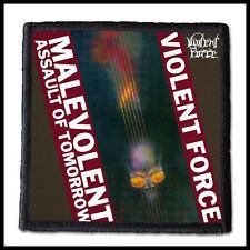 VIOLENT FORCE - Malevolent Assault of Tomorrow  ---- Patch / Aufnäher