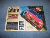 2002 Berger Hot Rod Camaro Special Edition Info Article