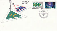 AUSTRALIA 23 JANUARY 1987 AUSTRALIA DAY OFFICIAL FIRST DAY COVER SHS
