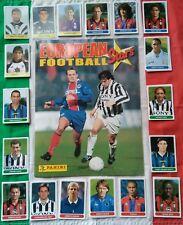 Album EUROPEAN FOOTBALL STARS panini 1997 con set completo MINT RONALDO BAGGIO..