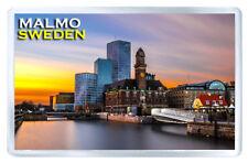 MALMO SWEDEN FRIDGE MAGNET SOUVENIR IMAN NEVERA