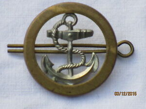 Royal Navy Other Ranks Badge, Marine Manschafts Abzeichen,Leading Seaman