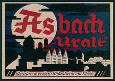 Reklameausschnitt von 1927 -  Asbach Uralt - Rüdesheim