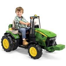 John Deere 12V Dual Force Tractor Ride On - NEW
