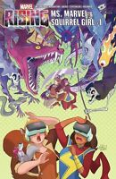 Marvel Rising Squirrel Girl & Ms Marvel #1 Marvel Comic 1st Print 2018 Unread NM