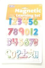 Kisd Learning Set Magnetic Toy Fridge Numbers A-Z Strong Magnets Magnetic 4+