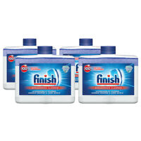Finish Dual Action Dishwasher Cleaner: Fight Grease,Limescale,Fresh 8.45 oz. 4pk