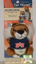 Auburn Tigers Plush Mascot Cell Phone Pouch Flip Style Cover Lobster Claw NCAA