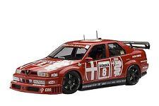 1/18 Autoart Alfa Romeo 155 V6 TI DTM 1993 Larini #8 Zolder VINCITORE Z