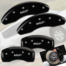 "2001-2006 Dodge Stratus Front + Rear Black ""MGP"" Brake Disc Caliper Covers"