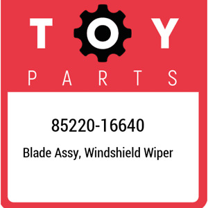 85220-16640 Toyota Blade assy, windshield wiper 8522016640, New Genuine OEM Part