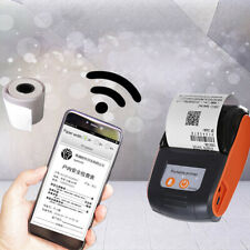 58mm Bluetooth Thermal Printer Portable Resaurant Receipt Barcode Label Printer