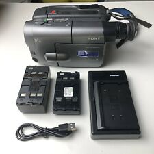 NICE Sony CCD-TRV30 8mm Video8 camera Camcorder VCR Player Video Transfer TESTED