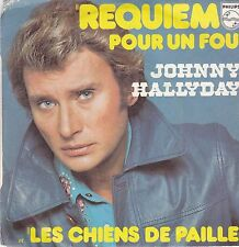 Johnny Hallyday-Requiem Por Un Fou Vinyl single