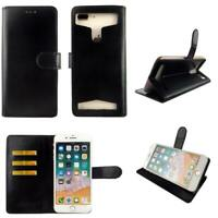Premium Leather Mobile Phone Wallet Book Case For BLU Tank Xtreme-L
