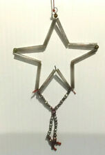 Fantastic Star Shaped Mercury Glass Bead Bohemian Style Garland Ornament