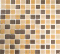 Glasmosaik Fliese braun mix Küche Wand Badezimmer Dusche Art: WB62-1302 |1 Matte