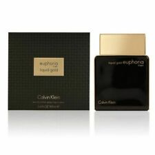 Calvin Klein Euphoria Men Liquid Gold 3.4oz 100ml Eau De Parfum NIB