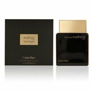 Calvin Klein Euphoria Men Liquid Gold 3.4oz 100ml Eau De Parfum NIB