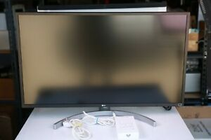 LG 32BL75U-W 32-Inches 2160p LED LCD Monitor - White w/ Power Supply