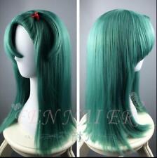 Dragon Ball Burma Boulevard Bulma Cyan Long Straight Hair Anime Wigs high