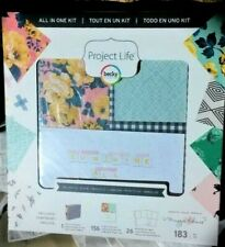 AMERICAN CRAFTS Becky Higgins Project Life 52 Bloom Bundle Photo scrapbooking