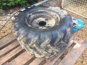 dumper wheels Tyres 7.50-16 X2