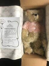 "Nib 12� Mohair Theodore Bears Doll ""Suzi� Limited 36/600 Artist Sheila Schuchert"