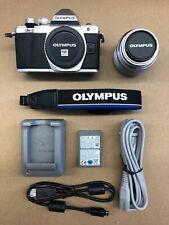 Used Olympus OM-D E-M10 Mark II Digital Camera w/14-42mm II R Lens (Silver)