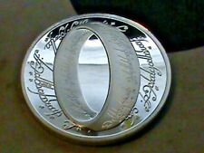 Lord Of The Rings~Fantasy Design~Collection Coins ~Silver Dollar Size
