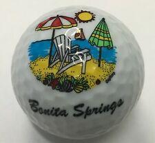 1 (ONE) Bonita Springs Beach Umbrella Chair Logo Golf Ball
