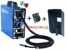 AWELCO SALDATRICE A FILO CONTINUO 90ah NO GAS 230V con accessori Mod. MIG ONE