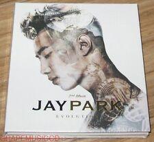 JAY PARK Jae Bum Evolution 2ND ALBUM K-POP CD + POSTER IN TUBE CASE SEALED