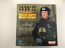 WWII German Panzertruppe Oberstlentant Fritz Muller 1/6th Scale Figure by DID