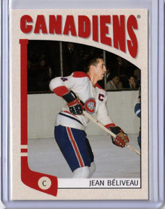 JEAN BELIVEAU 04/05 ITG Franchises Montreal Canadiens Habs 39 Hockey Card Scarce