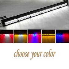 12V 24 LED Top Magnetic LED Car Warning Light Flashing Emergency Strobe Lights