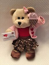 New with Tags Starbucks Plush Bearista Valentines Girl Bear 102nd Edition 2011