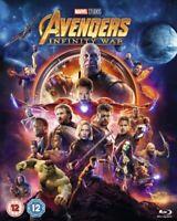 Nuevo Avengers Infinito Guerra Blu-Ray