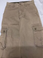 Arizona Boys Beige Cargo Pants Size 10 Regular