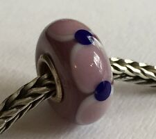 Authentic Trollbeads Ooak Universal Unique 181 Murano Glass Bead Charm Fits All