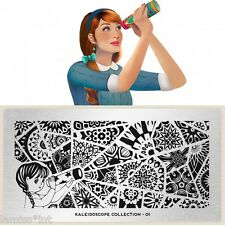MoYou London KALEIDOSCOPE 1 Collection Stamping Schablone, Mosaik Mandala