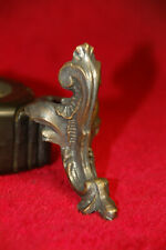 Vintage Bronze Brass Metal Box Feet acessories leg corner feet corner guard,2pcs