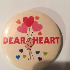 Valentines pinback/button