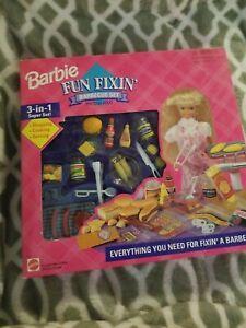 Barbie Fun Fixin' Cake Set - Mattel #67431 New MIB NRFB 3-in-1