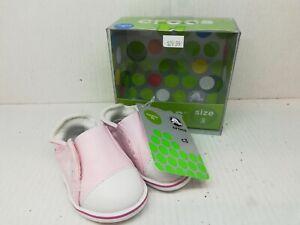 Retired Crocs Littles Hover Sneaker for Infants size C3 Bubblegum white